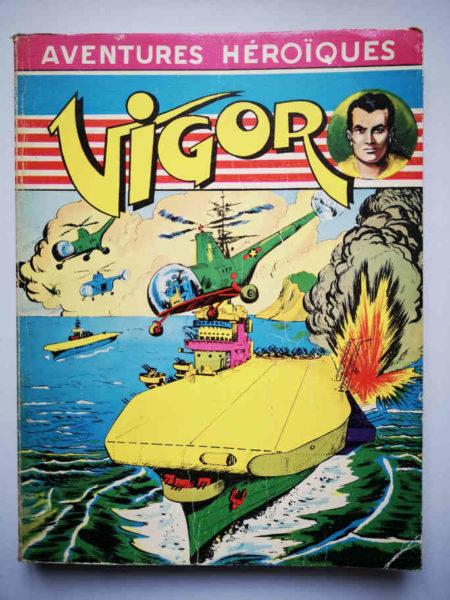 VIGOR ALBUM (N°5-6-11-12-13-14) Bob Corton - Giordan - ARTIMA 1955