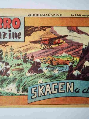 Zorro Magazine N°10 Skagen a disparu (Pierre Le Goff) SNPI 1950
