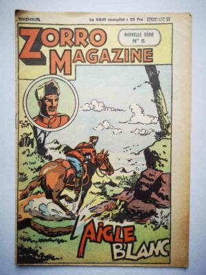 Zorro Magazine Nouvelle série N°5 Bob Monty (Pierre Le Goff) SNPI 1951