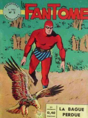 BD Le Fantôme 2 - Aventures Américaines - Remparts 1963