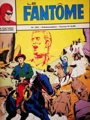 LE FANTOME N° 243 Les pirates de l'archipel – Remparts 1969