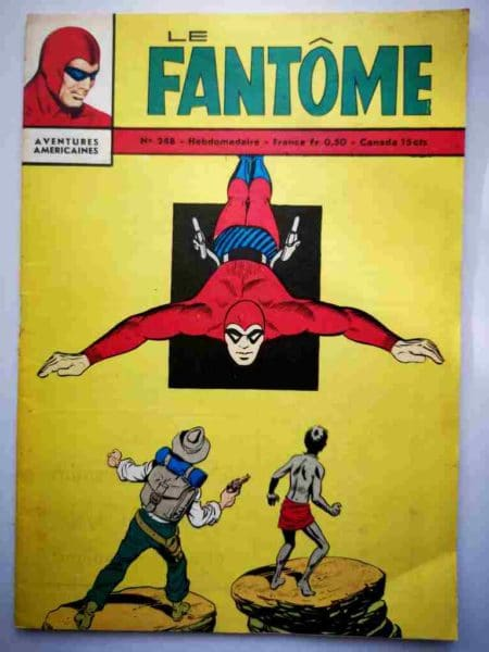 BD Le Fantôme N° 248 La fiancée de Satan - Rip Kirby - Lee Falk - Phantom