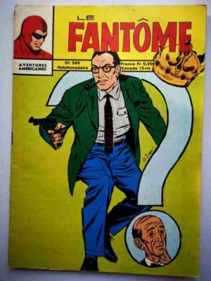 BD Le Fantôme N° 249 Sabotage aérien - Rip Kirby - Lee Falk