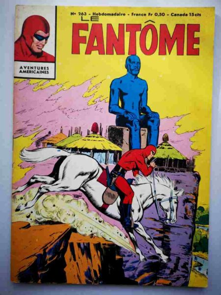 BD Le Fantôme N° 263 L'idole renversée - Rip Kirby - Lee Falk - Phantom