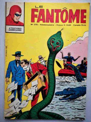 LE FANTOME N° 278 Jonques sans pavillon – Remparts 1970