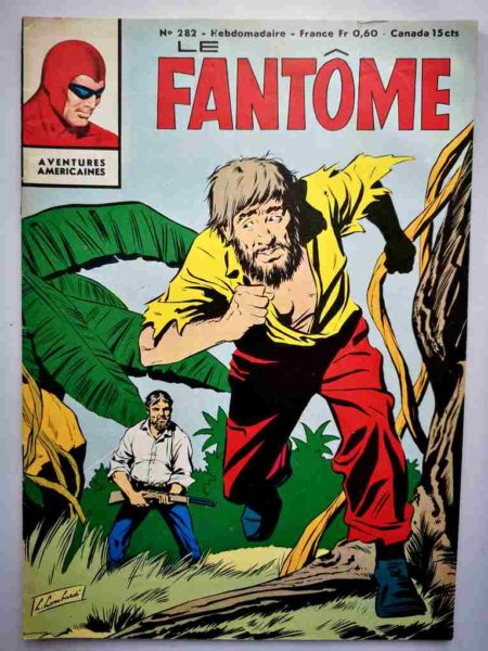 BD Le Fantôme N° 282 L'éléphant sauvage - Lee Falk - Phantom - Remparts