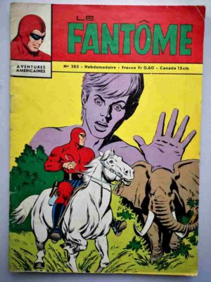 BD Le Fantôme N° 283 L'éléphant sauvage - Lee Falk - Phantom - Remparts