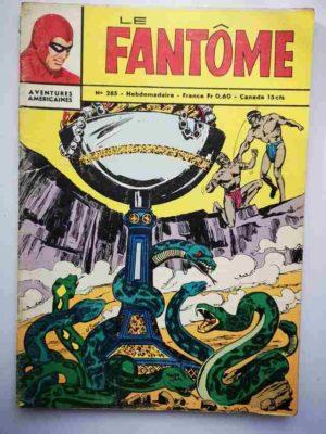 LE FANTOME N° 285 Le fabuleux trophée – Remparts 1970