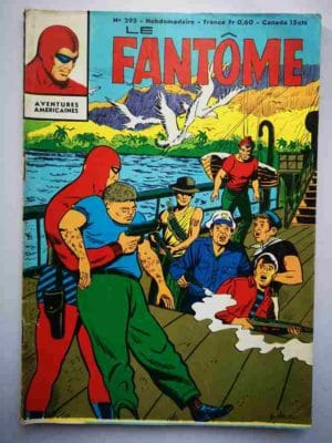 LE FANTOME N° 293 Les pirates du fleuve – Remparts 1970