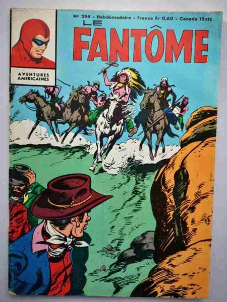 BD Le Fantôme N° 294 Les pirates du fleuve - Lee Falk - Phantom - Remparts