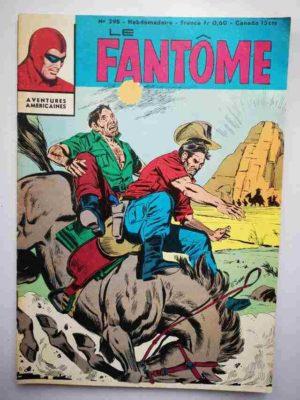 LE FANTOME N° 298 L'Ombre et l'héritière – Remparts 1970