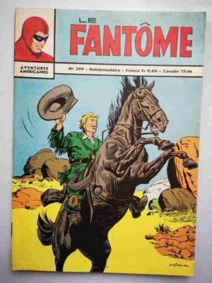 LE FANTOME N° 299 La bande du gorille – Remparts 1970