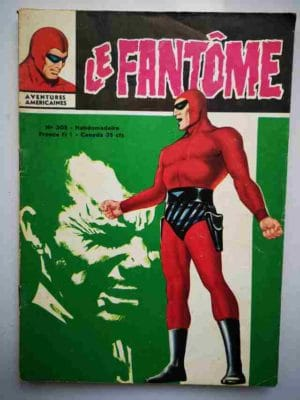 LE FANTOME N° 305 L'Ombre contre l'Invisible – Remparts 1970