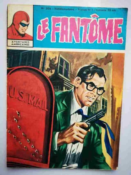 BD Le Fantôme N° 308 L'enlèvement du Maharajah - Rip Kirby - Lee Falk
