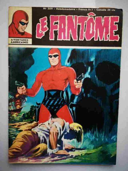 BD Le Fantôme N° 309 L'enlèvement du Maharajah - Rip Kirby - Lee Falk