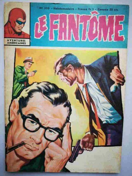 BD Le Fantôme N° 310 L'enlèvement du Maharajah - Rip Kirby - Lee Falk
