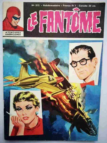 BD Le Fantôme N° 312 Ajax le géant - Rip Kirby - Lee Falk