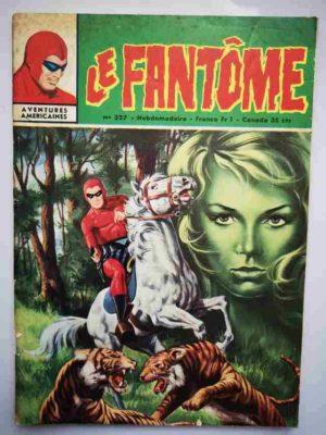LE FANTOME N° 327 La femme sauvage – Remparts 1970