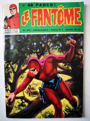 LE FANTOME N° 348 L'implacable ennemi – Remparts 1971