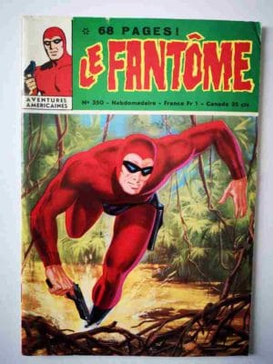 LE FANTOME N° 350 Les enfants de la gloire – Remparts 1971