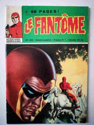 LE FANTOME N° 352 La Némésis rouge – Remparts 1971