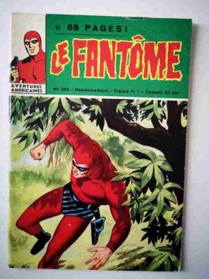 LE FANTOME N° 354 La bande du dragon – Remparts 1971