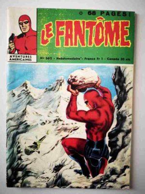 LE FANTOME N° 360 La vallée des songes – Remparts 1971
