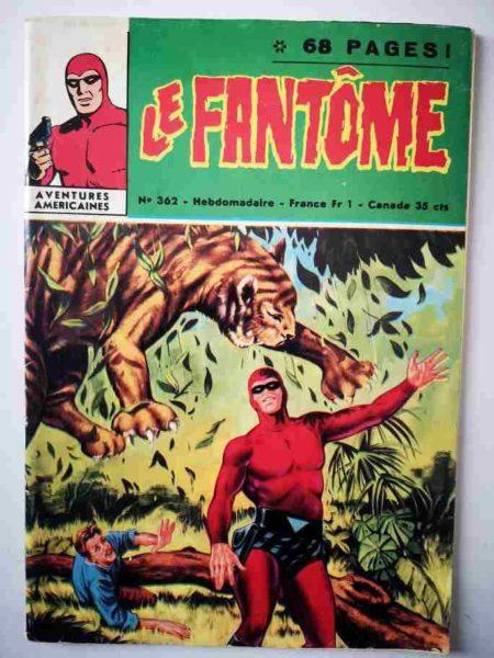 BD Le Fantôme N° 362 Le royaume des précipices - Lee Falk - Phantom
