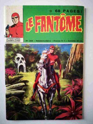 LE FANTOME N° 366 Le cimetière des éléphants – Remparts 1971