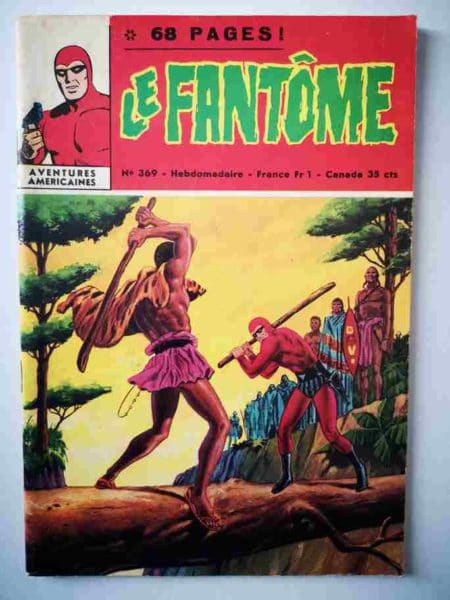 BD Le Fantôme N° 369 Le rite - Lee Falk