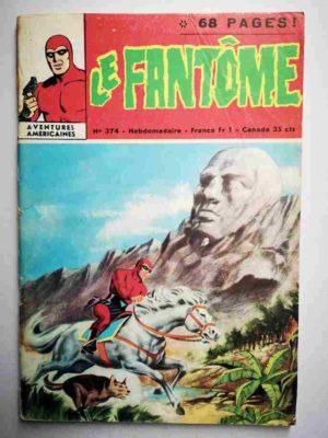 LE FANTOME N° 374 Le mystère de l'Hydre – Remparts 1971