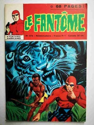 LE FANTOME N° 376 Le nid de l'aigle – Remparts 1971