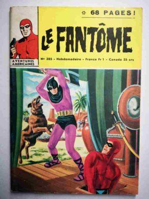 LE FANTOME N° 385 Le sixième homme – Remparts 1972