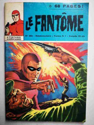 LE FANTOME N° 386 Les yeux de l'Ombre – Remparts 1972