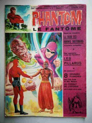 LE FANTOME N° 388 La tribu des Hommes Souterrains – Remparts 1972