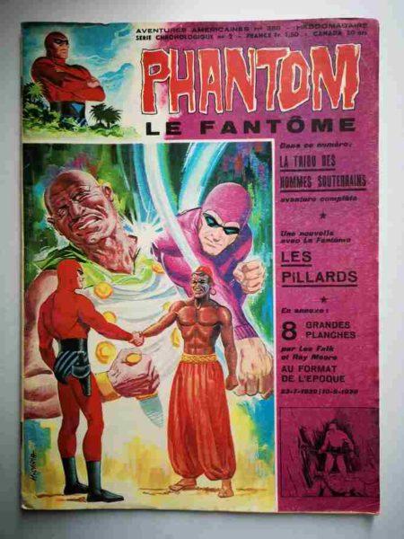 BD Le Fantôme N° 388 La tribu des Hommes Souterrain