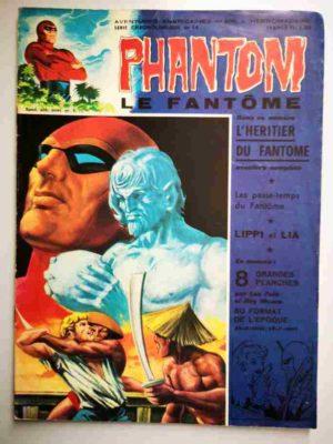 LE FANTOME N° 400 L'héritier du Fantôme – Remparts 1972