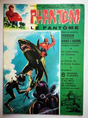 LE FANTOME N° 409 Terreur dans l'abîme – Remparts 1972