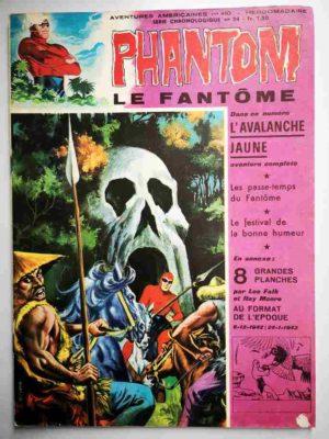 LE FANTOME N° 410 L'avalanche jaune – Remparts 1972