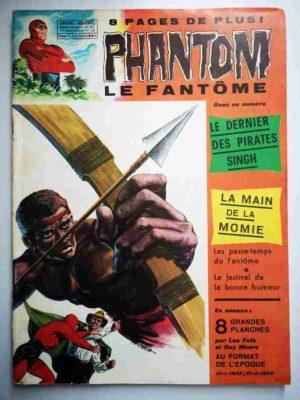 LE FANTOME N° 411 Le dernier des pirates Singh – Remparts 1972