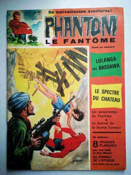 BD Le Fantôme N° 415 Lulanga des Bassawa