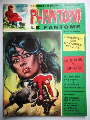 LE FANTOME N° 417 Les guerriers des montagnes perdues – Remparts 1972