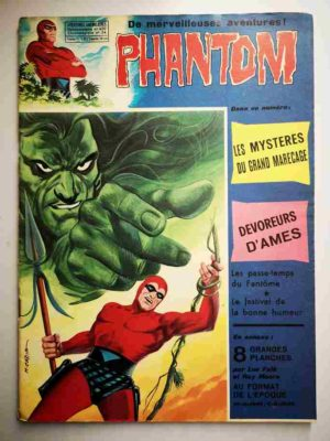 LE FANTOME N° 420 Le mystère du grand marécage – Remparts 1973