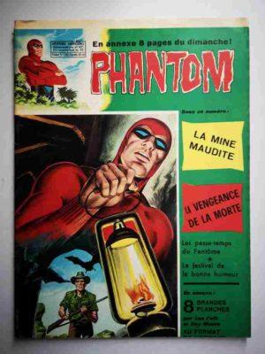 LE FANTOME N° 421 La mine maudite – Remparts 1973