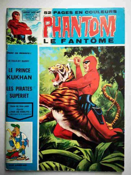 BD Le Fantôme N° 448 Le prince Kukhan - Lee Falk