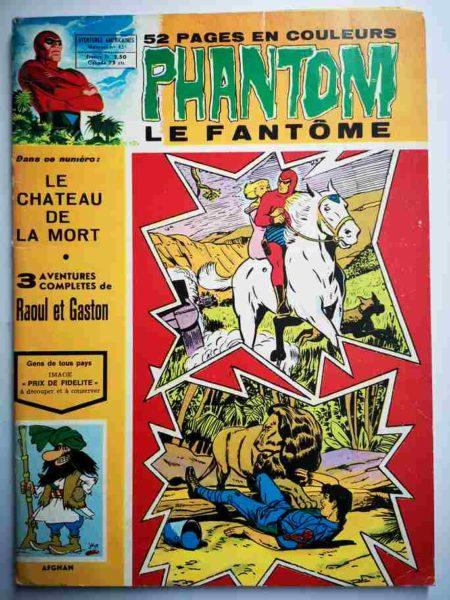 BD Le Fantôme N° 451 Le château de la mort - Raoul et Gaston - Lee Falk