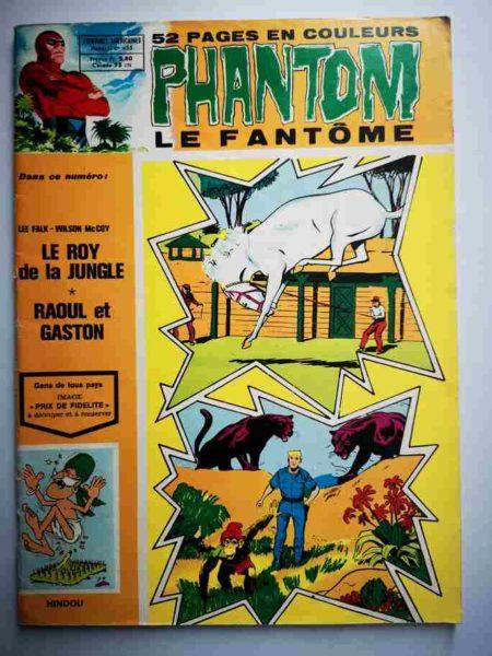 BD Le Fantôme N° 455 Le roi de la jungle - Raoul et Gaston - Lee Falk