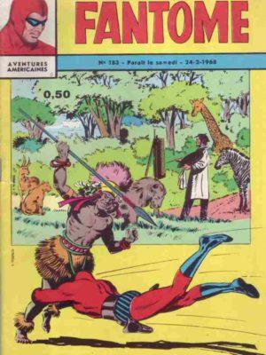 LE FANTOME N° 183 Un peintre parmi les fauves – Remparts 1968