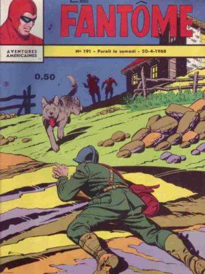 LE FANTOME N° 191 Les chasseurs de têtes – Remparts 1968
