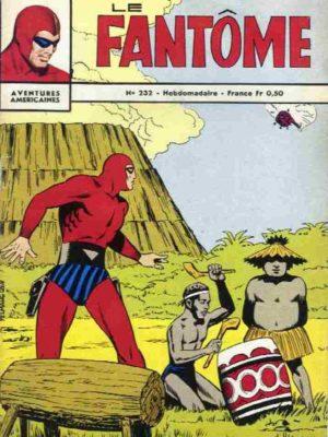 LE FANTOME N° 232 La dame voilée – Remparts 1969